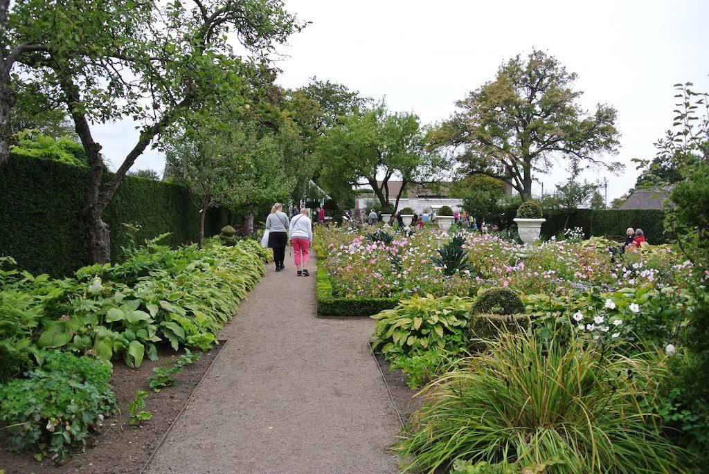 Sofiero slottsträdgård besöksträdgård