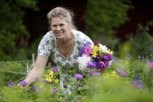 """Eva Robild berättar från sin resa från journalist till trädgårdsprofil. Hennes bok """"Perenna rabatter"""" recenseras av oss på Perenner.se."""
